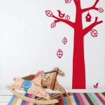 Decorate children's rooms easily with wall stickers