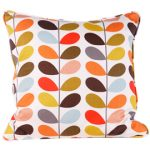 Orla Kiely patterned cushion