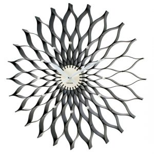 Black lotus clock