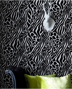 Animal print decor decorating wallpaper ideas