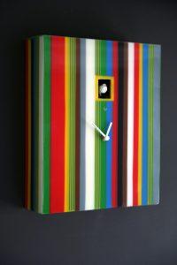 Funky Striped Cuckoo Clock Fresh Design Blog