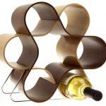 Unusual decorative knot wine rack