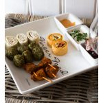 Finger food china party platter