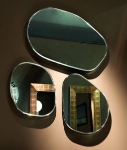Funky shaped mirrors