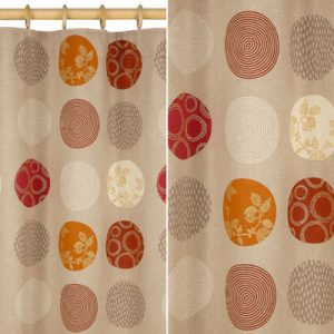 Colourful Isadora curtains