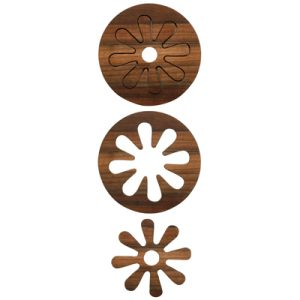 Fun and functional flower trivet