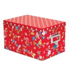 Berry Red Molly storage tins