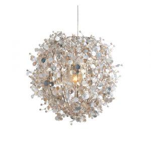 Cream pearl hanging light
