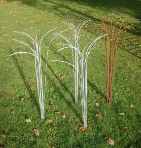 Grass plant sculptures