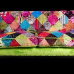 Patchwork sofa by Ginny Avison