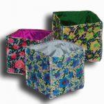 Rosablue handmade velvet storage box