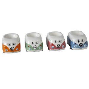 4 camper van egg cups