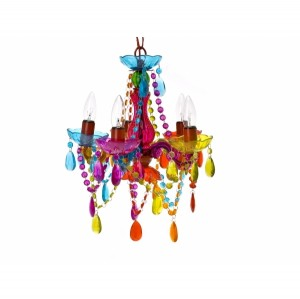 Mini colourful chandelier