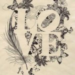 All You Need is Love tea towel