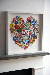 Creative heart art