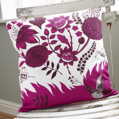 Bright and cheery cushion