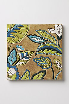 Anthropologie Potter's Choice coasters and trivet