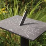 Impressive recycled sundial from Cox and Cox