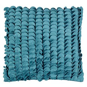 Lovely teal cushion