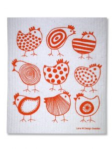 Chick dishcloth