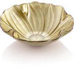 Gold magnolia dish from Ziggi Ziggi