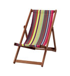 Stylish deckchair