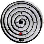 Unusual Aspiral motion wall clock