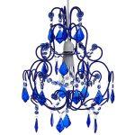 Fabulous Flounce Flock chandelier