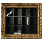 Seletti framed CD notorious storage shelf