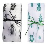 Warbeck and Cox beetle napkins