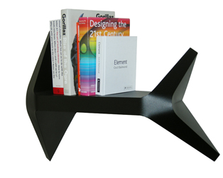 Stylish and practical modern Fold shelf