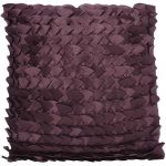 Linea purple fans cushion