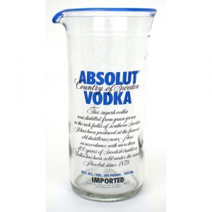 Absolut vodka glass jug