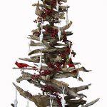 Natural driftwood Christmas tree by Karen Miller