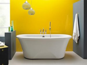 Modern jacuzzi roll top bath from Next Bathrooms