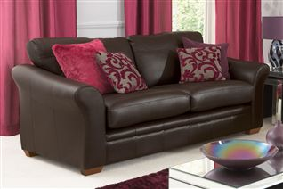 Best designer leather sofa