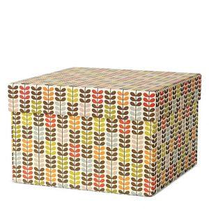 Designer Orla Kiely stem print box