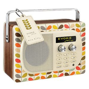 Designer DAB Orla Kiely radio
