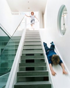 Home slide design staircase