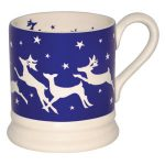 Christmas deer and reindeer mugs from Emma Bridgewater