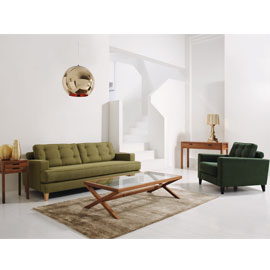 Iconic retro style modern sofa
