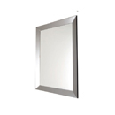 Large rectangular mirror home accessory
