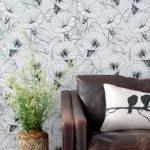 Ferm Living Bindweed wallpaper by Trine Andersen