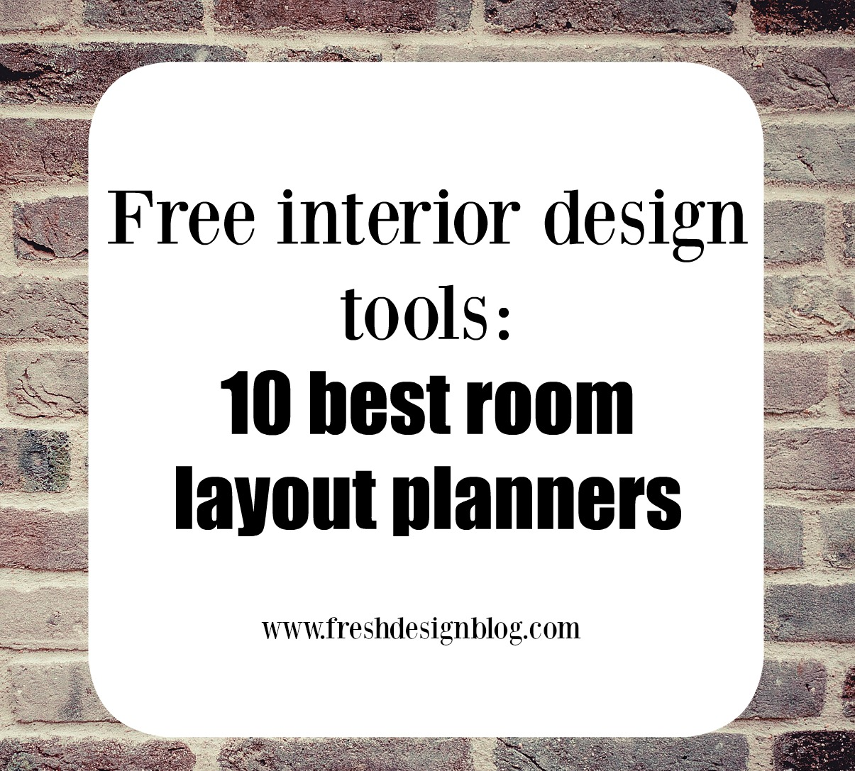 10 of the best free online room layout planner tools fresh design blog Free interior design