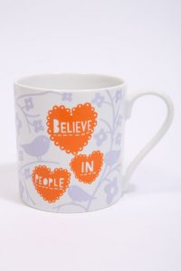 Designer Rob Ryan mug for Valentine's Day