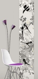 Wall panel wall art sticker