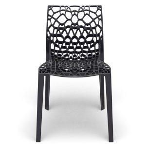 Modern coral designer chair