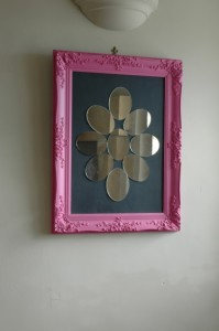 Ghost furniture designer pink mirror
