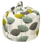 Sanderson Dandelion Clocks design beanbag