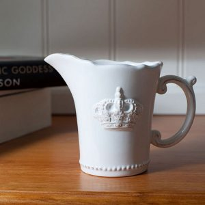 Royal Wedding 2011 crown milk jug